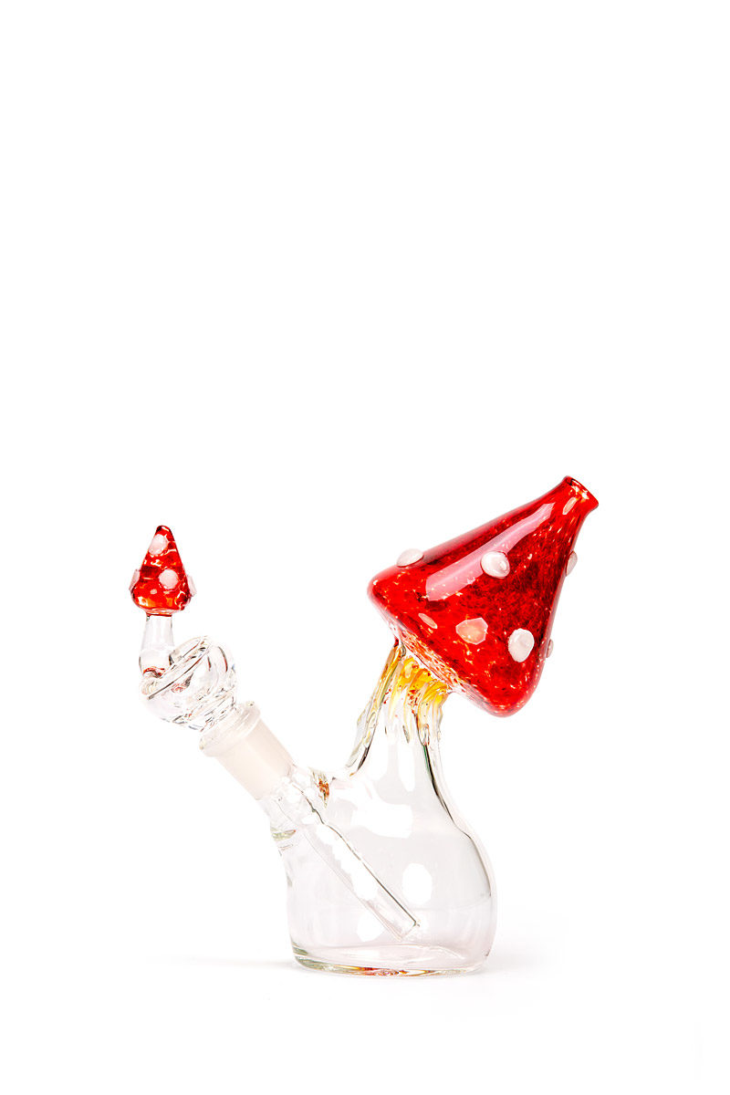 My-Burn.com Red Mushroom Water Pipe